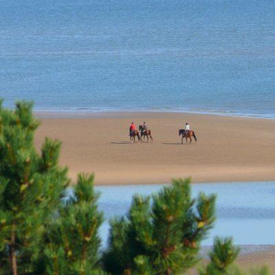 Balade à cheval sur Omaha Beach